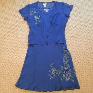 Robbie Bee Chiffon Dress